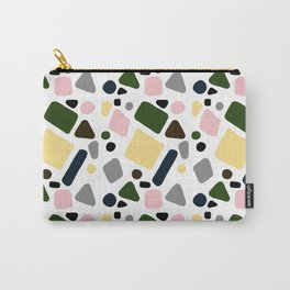 Pastel Mosaic Carry-All Pouch