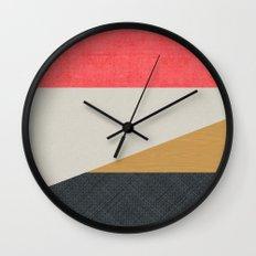 MCM SilverRose Wall Clock