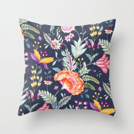 Chintz Throw Pillow