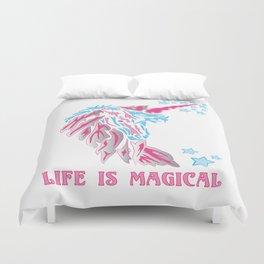 Unicorn: Life is Magical Duvet Cover