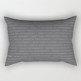Strong Photography Keywords Marketing Rectangular Pillow