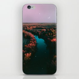 north dakota fall iPhone Skin