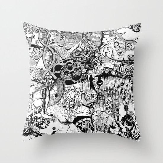 Destroyer Throw Pillow