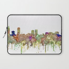 Baton Rouge, Louisiana Skyline SG - Faded Glory Laptop Sleeve