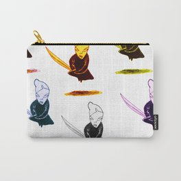 onna-bugeisha colorful Carry-All Pouch