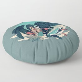 Fly Away With Me Floor Pillow