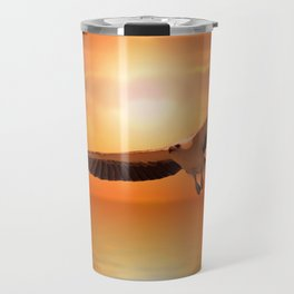 White  Eagle Travel Mug