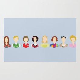 Kristen Wiig Character Print Rug