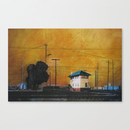 The Hobart Station Canvas Print