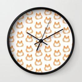 corgi butts Wall Clock