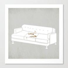 F*** Yo Couch N**** Canvas Print