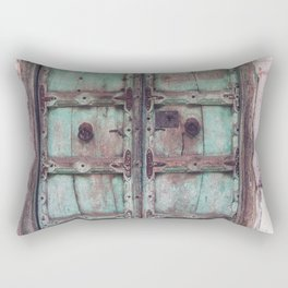 Doors Of India 3 Rectangular Pillow