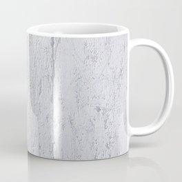 Close up of Old Grunge Weathered White Painted Plywood Coffee Mug