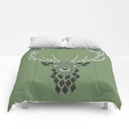 Diamond Mosaic Stag Comforters