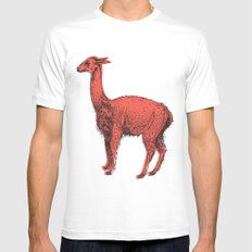 vicuña Mens Fitted Tee White MEDIUM
