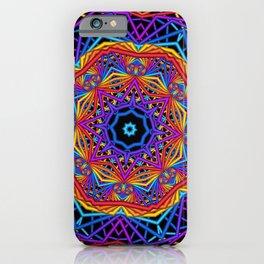 symmetry on black -01- iPhone Case