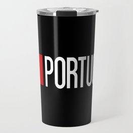 Portugal: Portuguese Flag & Portugal Travel Mug