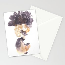 Soft Texture Watercolor | [Grief] The News Stationery Cards
