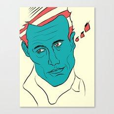 Magic in 3 colors Canvas Print
