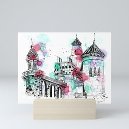 The Castle of Song Mini Art Print