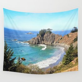 coastal overlook Wall Tapestry