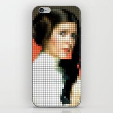 Princess with gun iPhone & iPod Skin