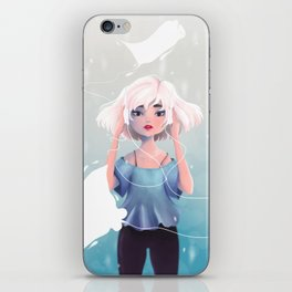 Sound of Silence iPhone Skin