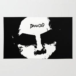 S.S. Fem Joker (Black and White) Rug