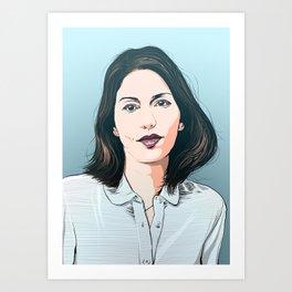 Sofia Coppola Art Print