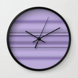 Pantone Purple Stripe Design Wall Clock