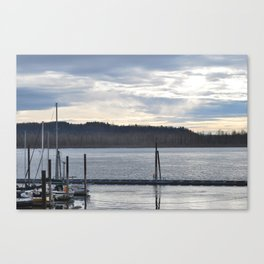 waiting to ex sail Canvas Print