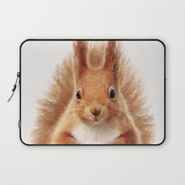 Baby Squirrel, Baby Animals Art Print By Synplus Laptop Sleeve