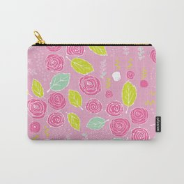 Belle Fleurs - bright roses Carry-All Pouch