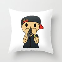 liam payne Throw Pillows featuring Liam by clevernessofyou