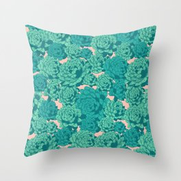 Succulents I Throw Pillow