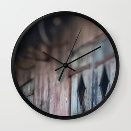 New Orleans Telling Stories Wall Clock