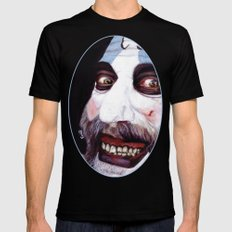 Captain Spaulding Black Mens Fitted Tee X-LARGE