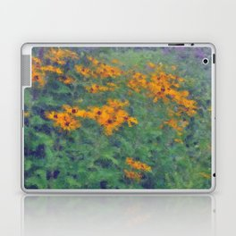 Impressionist Field of Flowers Laptop & iPad Skin