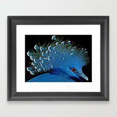 A GOOD HAIR DAY Framed Art Print