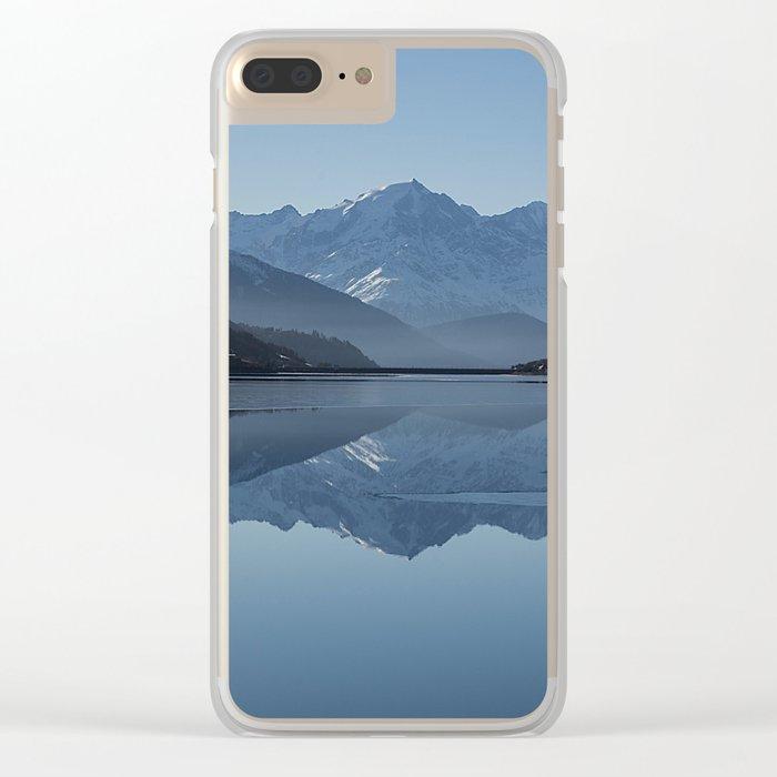 Idyllic Lake Clear iPhone Case