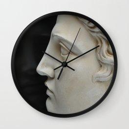 Apollo in profile Wall Clock