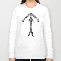 sagittarius Long Sleeve T-shirts featuring Sagittarius by Mario Sayavedra