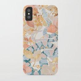 Coral Spring Garden iPhone Case