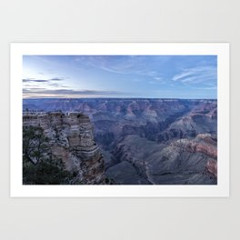 Early Evening at the Grand Canyon No. 1 Art Print
