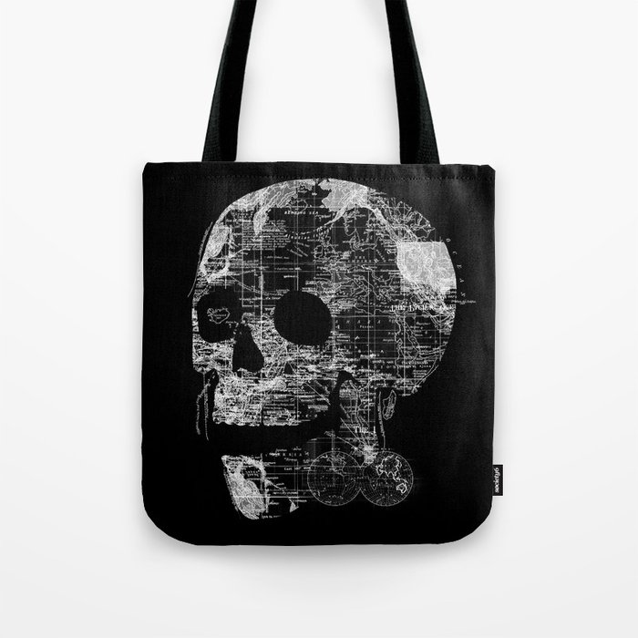 Skull Wanderlust Tote Bag