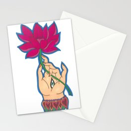 Indian Hand by Shane A. Stationery Cards