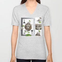 Small but Dangerous / Cards for my arts Unisex V-Neck