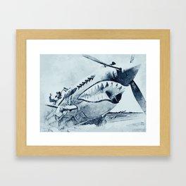 Curtis P-40 Framed Art Print
