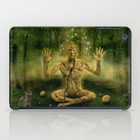the cure iPad Cases featuring Magic forest cure by teddynash