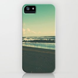 Dark Sand Beach iPhone Case